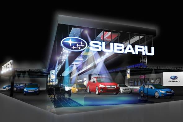 SUBARU Tokyo Auto Salon 2015