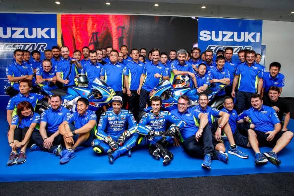 Team SUZUKI ECSTAR GSX-RR