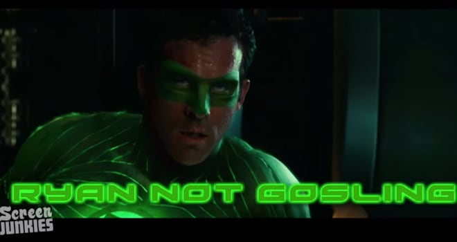green lantern honest trailer