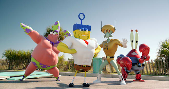 spongebob squarepants 2 movie
