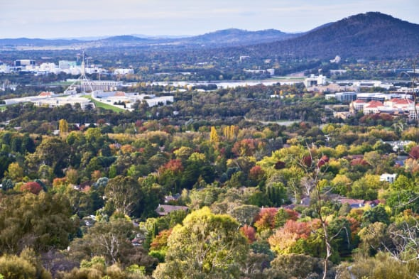 Autumn Colours of Canberra