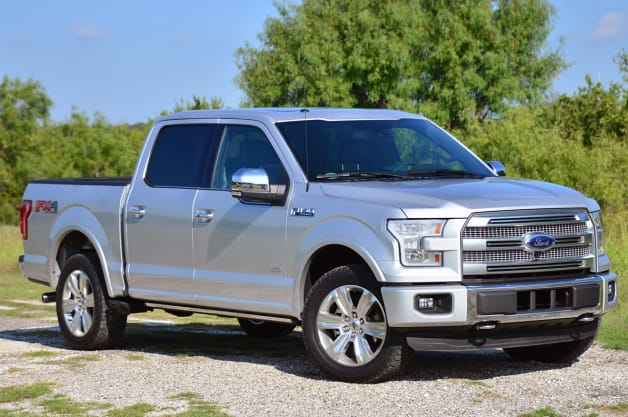 2015 Ford F-150 - Front three-quarter view