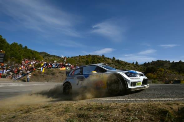 Andreas Mikkelsen (N), Ola Fløene (N)Volkswagen Polo R WRC (2014)WRC Rally Spain 2014