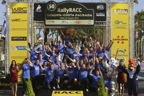 WRC Rally Spain 2014
