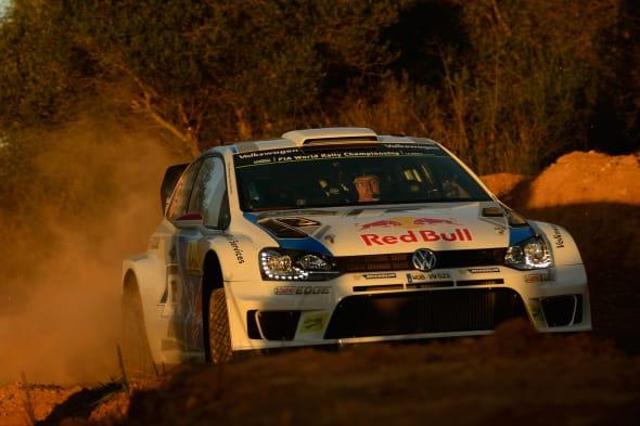 Jari-Matti Latvala (FIN), Miikka Anttila (FIN)Volkswagen Polo R WRC (2014)WRC Rally Spain 2013