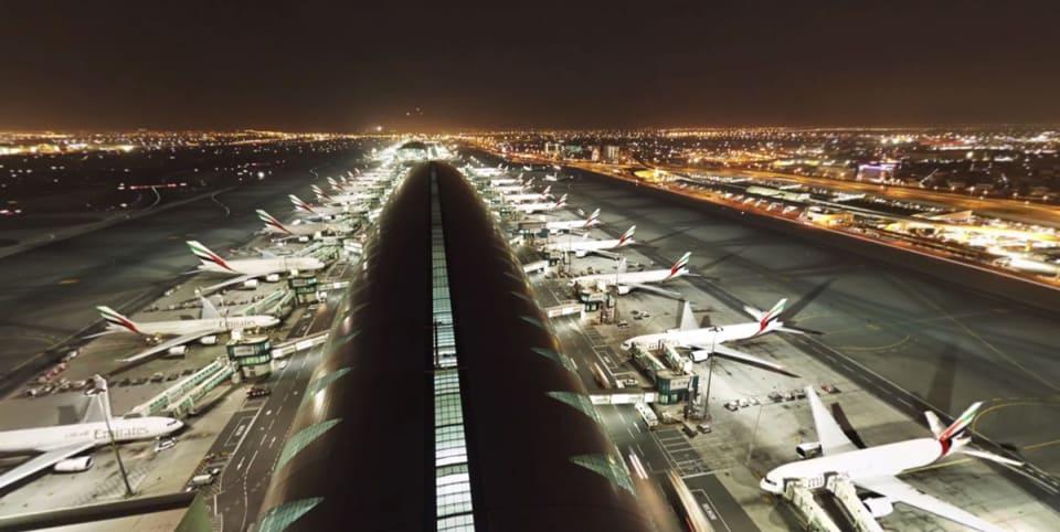 动眼看:360 度全景看 8K 分辨率的迪拜机场