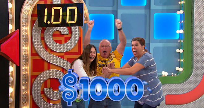 the price is right, showcase showdown, dollar spin, history