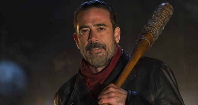 Jeffrey Dean Morgan as Negan - The Walking Dead _ Season 6, Episode 16 - Photo Credit: Gene Page/AMC