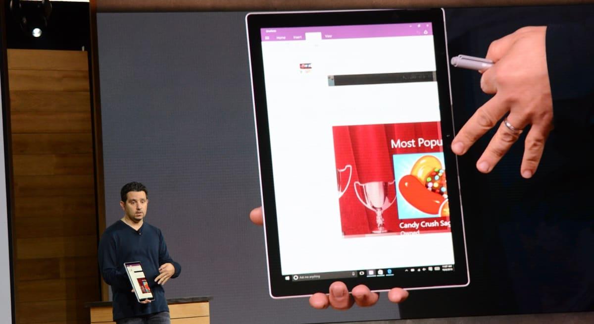 微软发布 Surface Pro 4!