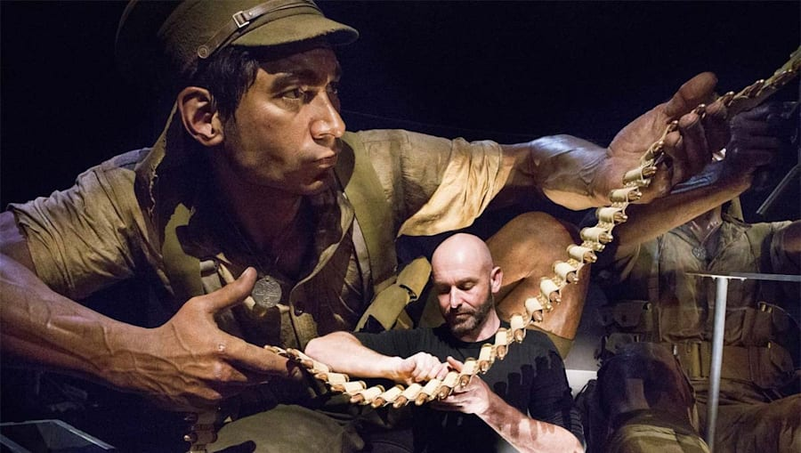 Weta Workshop this year collaborated with the Te Papa Museum on the exhibition 'Gallipoli: The Scale...