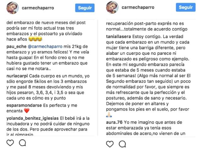 La reflexión de Carme Chaparro sobre la controvertida imagen de una modelo