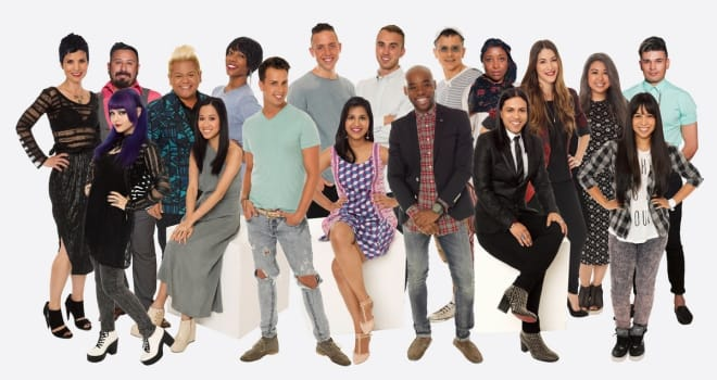 project runway season 13 cast