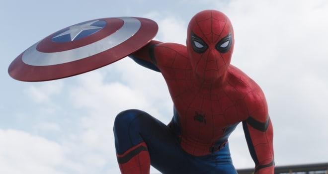 Marvel's Captain America: Civil WarSpider-Man/Peter Parker (Tom Holland)Photo Credit: Film Frame© Marvel 2016