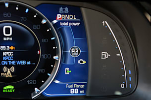 Cadillac ELR gauge cluster