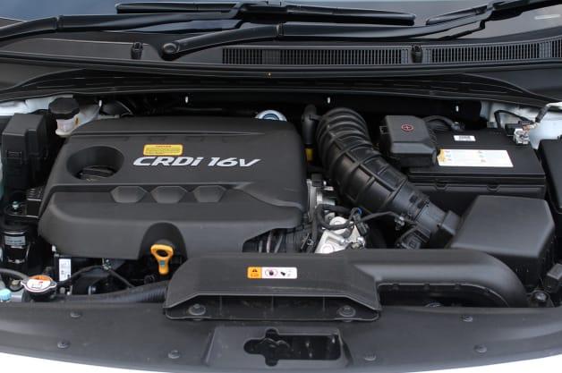 2014 Hyundai i40 Tourer engine