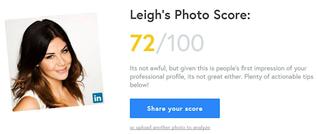 This Site Tells You If Your LinkedIn Headshot Is