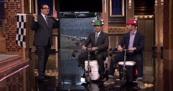 Jimmie Johnson, Tonight Show, Jimmy Fallon