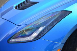 2014 Chevy C7 Corvette Stingray headlight
