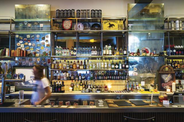 The George Hotel Bar, Kilburn, Melbourne
