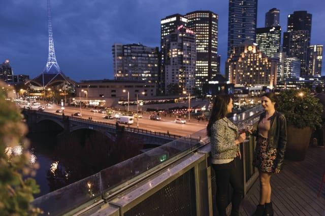 Melbourne rooftop restaurant