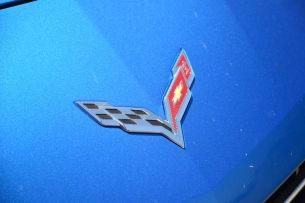 2014 Chevy C7 Corvette Stingray badge emblem