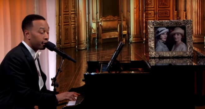 John Legend Downton Abbey