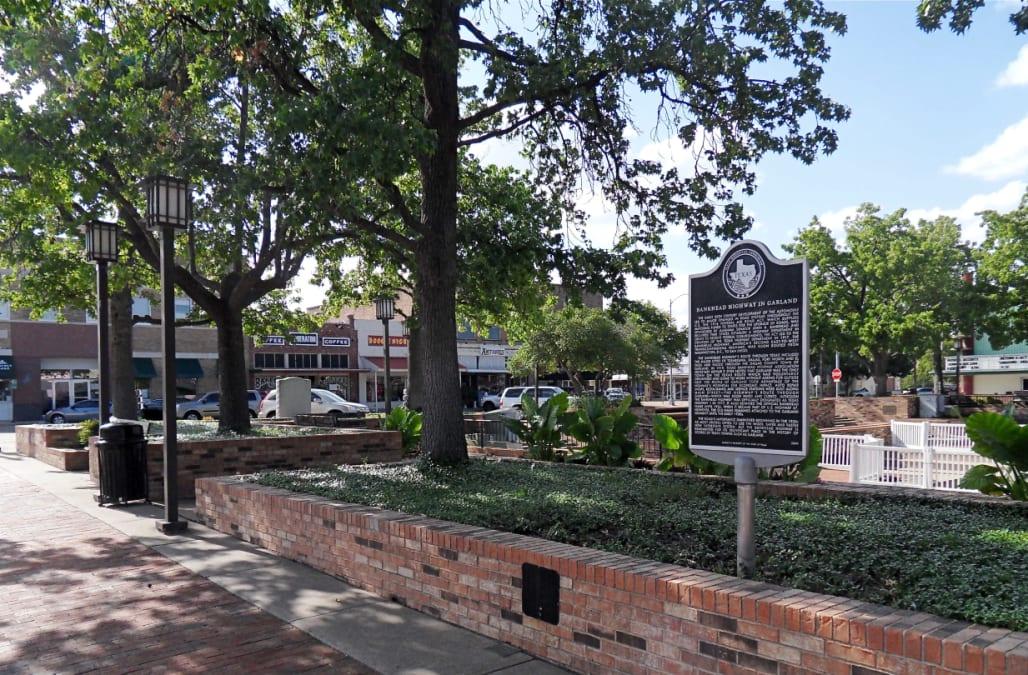 Downtown Garland