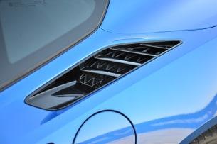 2014 Chevy C7 Corvette Stingray fender air inlet