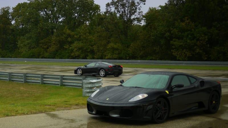 Black Ferrari F430