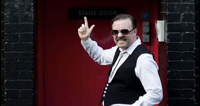 "Ricky Gervais in BBC Films' ""David Brent: Life on the Road"""