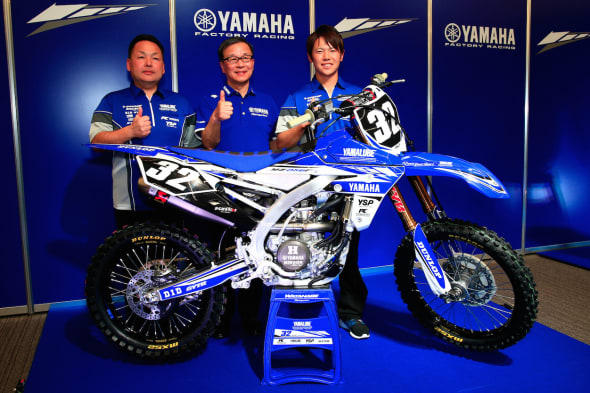 YAMAHA FACTORY RACING TEAM JMX IA2