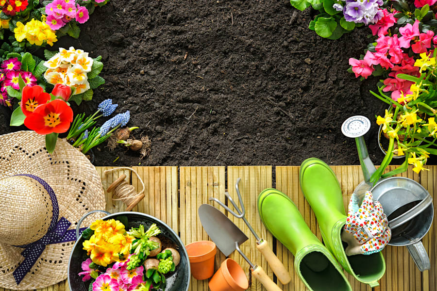 Gardening is a low impact, gentle exercise you can do at all