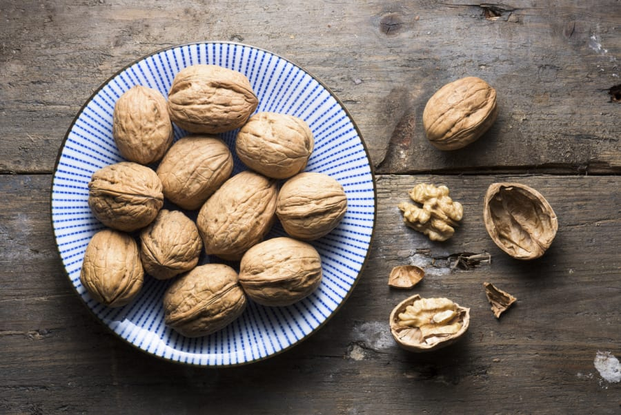 Walnuts have a great ratio of omega 3 and omega 6 fatty