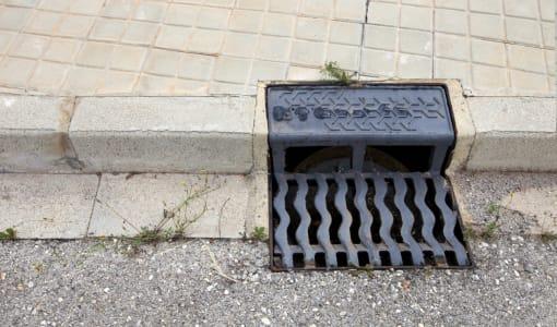 Storm water drain, Valencia region, Spain