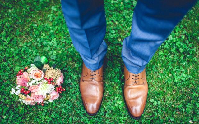 Bridegroom wedding