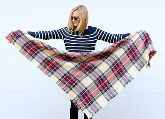 10 ways to tie a blanket scarf