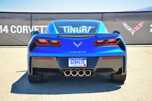 2014 Chevy C7 Corvette Stingray rear end