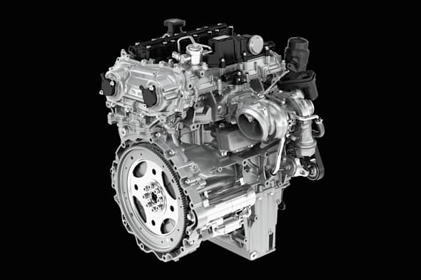 JAGUAR INGENIUM Petrol Engine