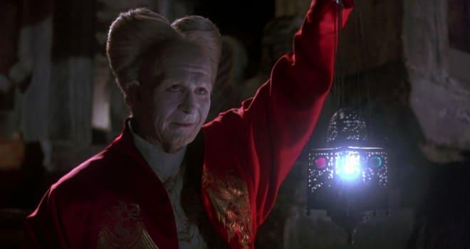 "gary oldman as dracula in ""bram stoker's dracula"""