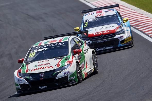 2017 EVENT: Race of Hungary TRACK: Hungaroring TEAM: Castrol Honda World Touring Car Team CAR: Honda Civic wtccDRIVER: Tiago Monteiro