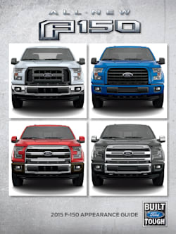 2015 Ford F-150 Trim Guide