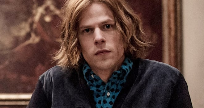 Jesse Eisenberg and Connie Nielsen return for Justice League