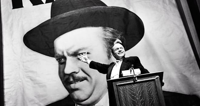 Orson Welles in Citizen Kane