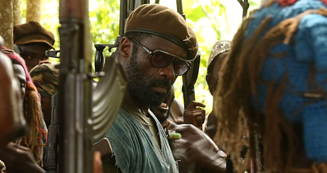 Idris Elba in Netflix's BEASTS OF NO NATION