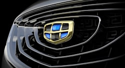 Geely GC9 grille