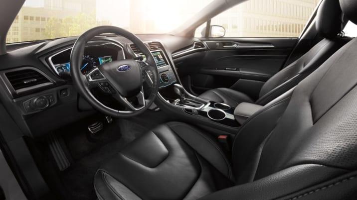 2016 Ford Fusion Energi PHEV interior