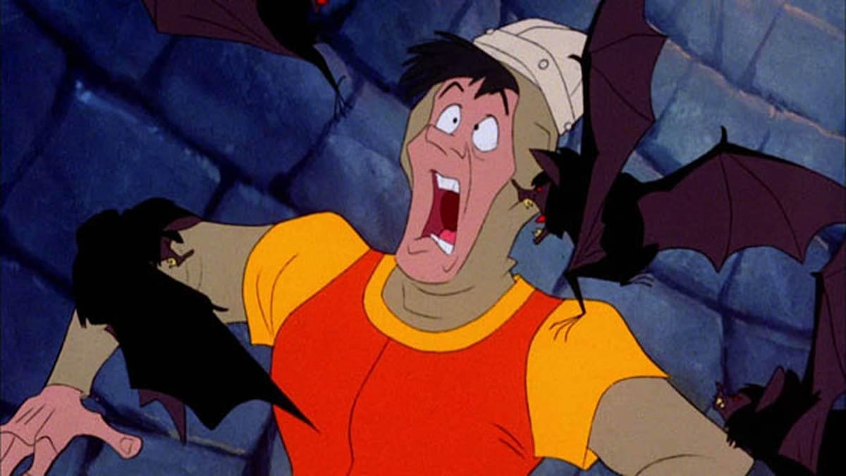 39 dragons lair 39 movie project leaves kickstarter heads to for Dragon s lair
