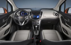 2015 Chevy Trax interior