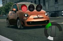2K Drive race screen