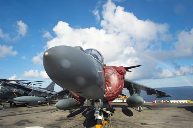 USS Makin Island AV-8B Harrier